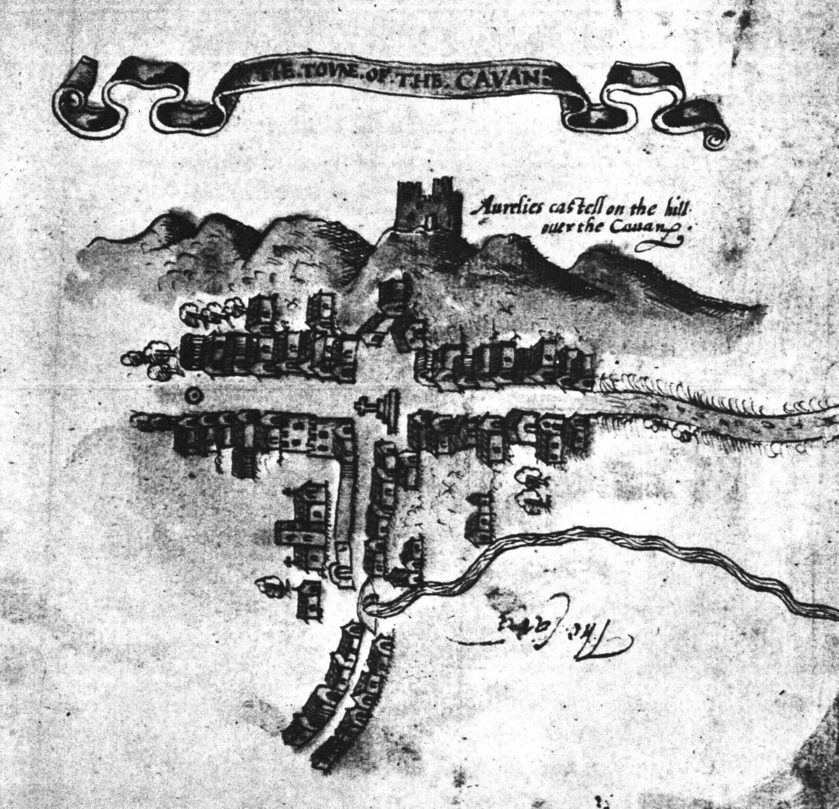Cavan Town Ancient Map