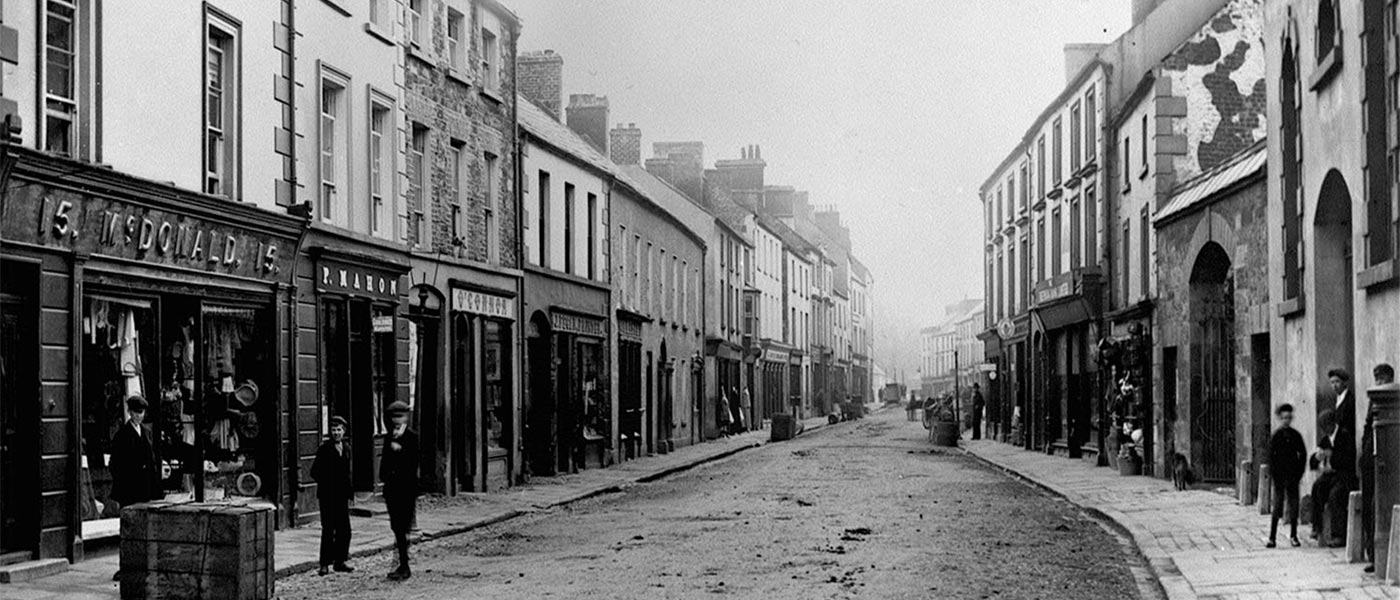 Before-Main Street, Cavan Town.