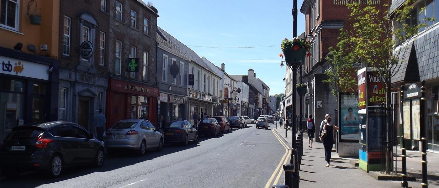 After-Main Street, Cavan Town.